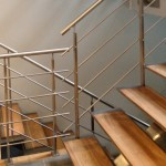 stainless steel crossbar railings