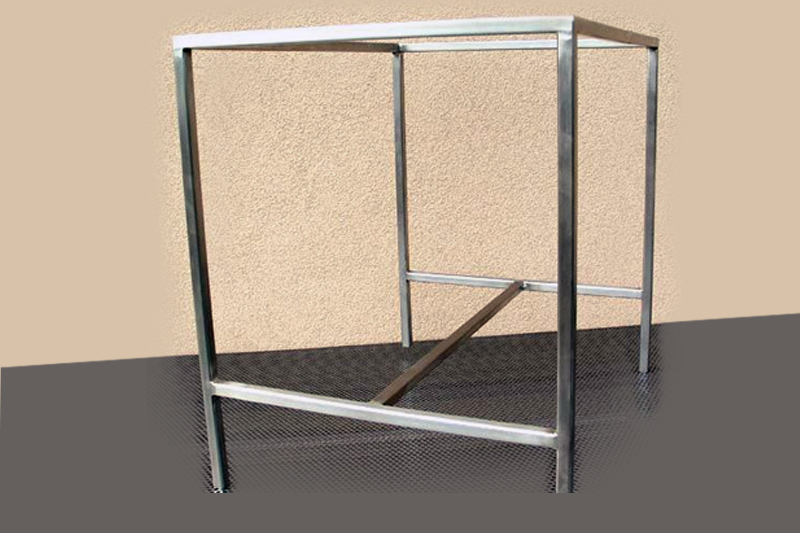 We Offer Wide Range Of Standard Stainless Steel Furniture As Well As  Furniture According To Individual Customer Needs.
